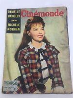 CINEMONDE #1200 - LESLIE CARON COVER - 1950s 50s - ULTRA RARE - G