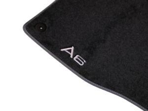 Audi A6 (2019+) Premium Textile Floor Mats - Genuine OEM Accessory - Set of 4