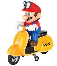 Motocyclette scooter R/c Carrera Super Mario Odyssey 2 4 GHz