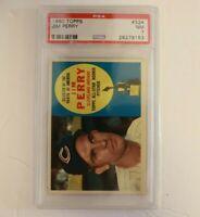 1960 Topps Jim Perry #324 PSA 7 NM