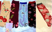 "NINJA Tabi Socks ""5 PAIRS SET"" Swallow kuma  2-toe-socks wagara 2 toes JAPAN"