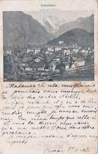 SWITZERLAND - Interlaken - View 1902