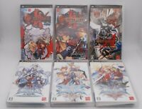 Sony PSP Guilty Gear & BLAZBLUE 6Game set Japan Import PlayStation Portable