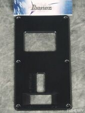 NEW IBANEZ ZR2 TREMOLO BACK PLATE COVER PANEL BLACK TREM S5470 S920E GUITAR PART