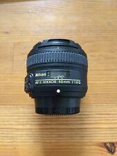Nikon Nikkor AF-S 50mm f/1.8 G Objektiv