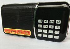 Ohala Mini Portable Am/Fm Radio Mp3 Music Player Speaker Support Micro Sd/tf Car