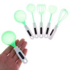 5pcs/set Baby Pretend Play Kitchen Toys Kid's Utensils Cooking Pots For Doll