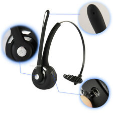 Bluetooth Headphone Wireless Stereo Headset Over the Head Mic for Truck Driver