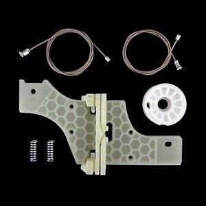 Elevalunas Cable Reparación Clip Kit Set Trasero Izquierdo Puerta Se Peugeot 508
