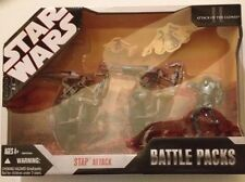 STAR WARS Battle Packs STAP ATTACK With 2 STAP, 2 BATTLE DROID and SUPER DROID