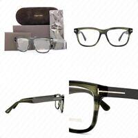 Authentic Tom Ford TF5372 098 54mm Dark Green FT5372 Eyeglasses