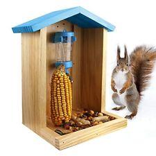 New listing Squirrel Feeder Funny Squirrel House Feeder Cute Squirrel Feeders For Outside