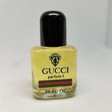 GUCCI PARFUM 1 NO BOX MINI .25 OZ Purse Size Vintage Full
