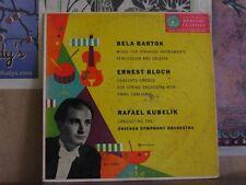 BARTOK STRINGED INSTRUMENTS, KUBELIK -LP MG 50001