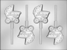 Baby Buggy Lollipop Candy Mold from CK #11525 - NEW