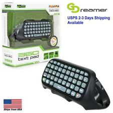 Black Keyboard Adapter KMD Keypad Text - 360 Wired QWERTY Xbox Pad