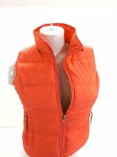 MAURICES WOMENS SALMON DOWN INSULATED PUFFER SKI VEST SIZE S