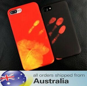 Heat Sensitive iPhone 6 6s 7 Plus Case Colour Changing Activated Gel