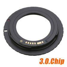 Aluminum M42 Chips Screw Lens To Canon EOS EF Mount Ring Adapter AF III Confirm