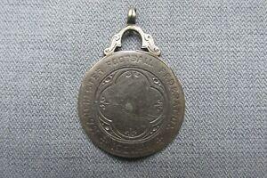Manchester Football Federation -- 1902 - 3 -- Silver Medal -- Edwardian Soccer