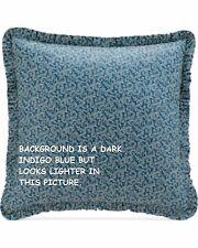 New Savannah Home Darjeeling Euro Pillow Sham Blue & White