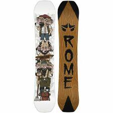 Rome Snowboard Gang Plank 155 Len Jorgensen 2020 Contacto Balancín True Twin New