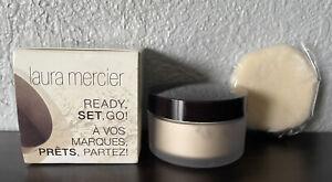 Laura Mercier Deluxe MiniTranslucent Loose Setting Powder With Mini Velour Puff