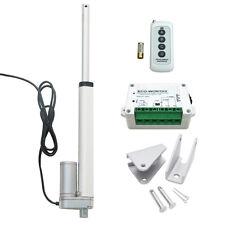 12V Linear Actuator Motor 200mm Stroke 12V + Wireless Remote Control Door Lift