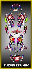 SUZUKI LTR 450 QUADRACER  SEMI CUSTOM GRAPHICS KIT TRANCE1