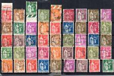 FRANCE// 1932 - LOT TYPE PAIX N°280/289 OBLITERES