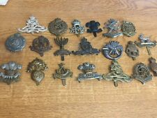 More details for nice mixed lot of military badges lot 1