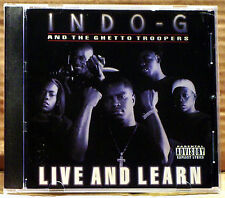 Live & Learn [PA] by Indo G (CD, May-2000, 404 Music Group)