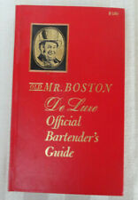 Old Mr. Boston De Luxe Official Bartender's Guide Hc Book