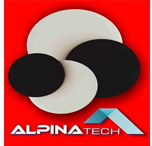 PLEXIGLAS®  Acrylglas schwarz und weiß 3mm  5mm  8mm  kreisrunder Laserzuschnitt