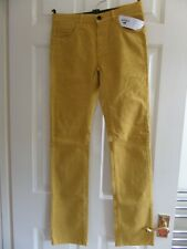 LACOSTE GIRL JEANS - 14 YRS - YELLOW & ELASTANE RRP £95