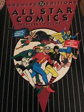 Dc Archives All Star Comics Vol 1 Mint