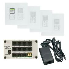On-Q/Legrand Radiant Selective Call 4-Room Intercom Kit, White (ic7400wh)