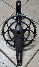 Guarnitura Bici corsa carbonio Token MONO Q 175 50 34 road bike crankset carbon