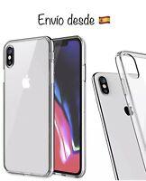 iPhone Xs Max Protector De Cristal Templado + Funda Silicona Transparente