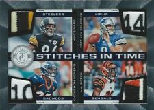 Ward/Stafford/Moreno/Green 2012 Panini Stitches In Time Prime Quad Relic Card /4