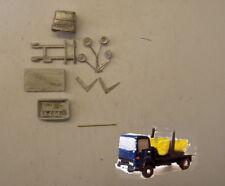 P&D Marsh N Gauge N Scale E103 Dodge skip lorry & skip kit requires painting