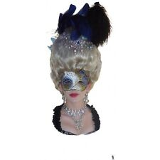 18th century MARIE POUF WIG marie antoinette white or choice of color