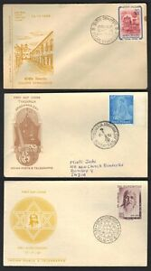 INDIA 1950's COLLECTION OF 10 COVERS INCLUDING 3 FDC's & ONE MINT POSTAL COVER