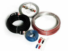 Vibe 8 Gauge Flat 1500W Amplifier Amp Stereo Wiring Kit