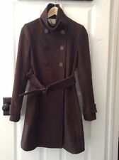T. BABATON TALULAH ARITZIA WOOL CASHMERE Bromley jacket Coat Dark Brown xxS