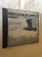 VANGELIS CD L'APOCALYPSE DES ANIMAUX 831 503-2 1973 WORLD MUSIC