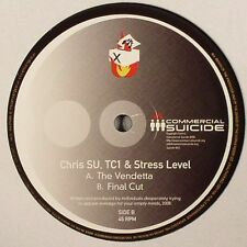 CHRIS SU, TC1 - The Vendetta - Vinyl - Drum And Bass - Commercial Suicide