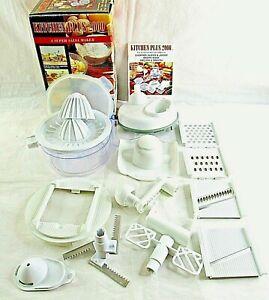 Chopper Slicer Grater Salsa Maker Kitchen Plus 2000 Shredder Julienne Juicer