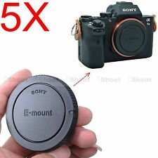 5x Body Cover Cap for Sony Micro SLR Camera NEX 7 6 5 3 5N 5R 5T C3 F3 3N QX1
