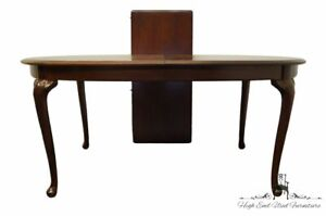 """THOMASVILLE FURNITURE Collectors Cherry 88"""" Oval Dining Table 10121-652"""